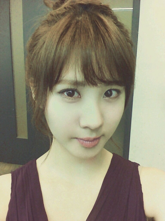Seohyun e sua adorável Selca!