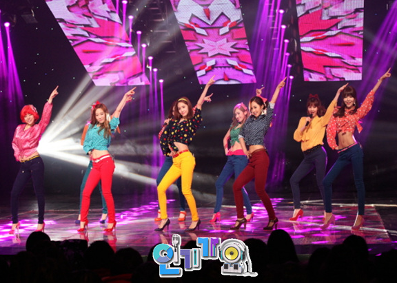 snsd inkigayo dancing queen pictures (5)