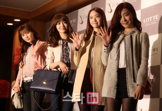 snsd members at wonder girls sunye wedding (103)