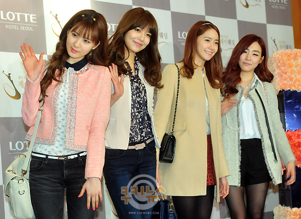 snsd members at wonder girls sunye wedding (11)