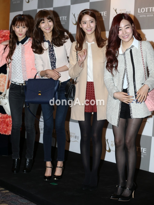 snsd members at wonder girls sunye wedding (14)