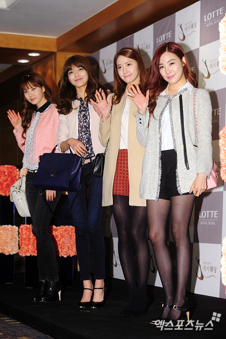 snsd members at wonder girls sunye wedding (34)