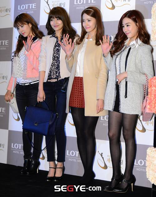 snsd members at wonder girls sunye wedding (41)