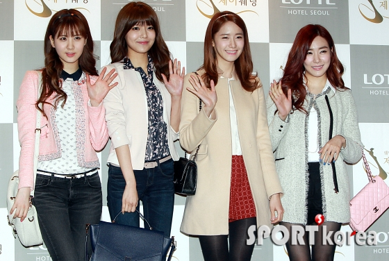 snsd members at wonder girls sunye wedding (52)