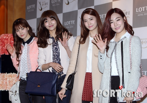 snsd members at wonder girls sunye wedding (56)