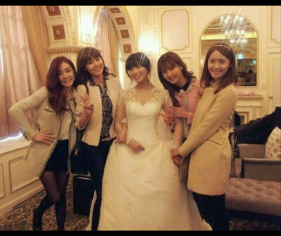 wonder girls with snsd seohyun yoona sooyoung tiffany