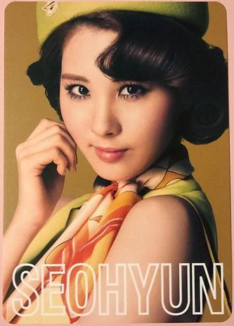 snsd seohyun 2nd japan tour photo cards (1)