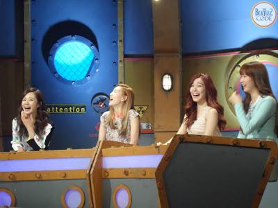 snsd yuri taeyeon tiffany seohyun mnet beatle's code pictures (1)