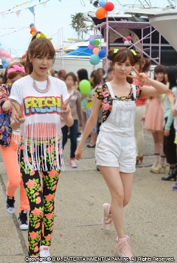 snsd love and girls mv filming (6)